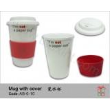 AB-0-10雙層陶瓷咖啡杯