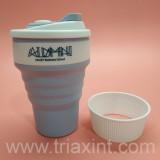 AB-0-1006硅膠摺疊水杯