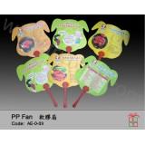 AE-0-09PP膠扇(猪造形)
