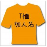 T恤加人名