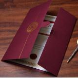 GB-0-1011紙証書套/文件套