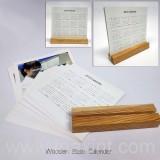 LD-0-1003木架桌面台曆