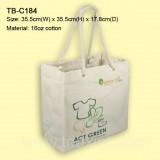 TB-C18416oz-棉布袋(粗扭繩手挽)
