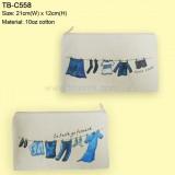 TB-C55810oz-棉布拉鏈袋