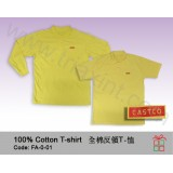 FA-0-01T恤-反領長/短袖